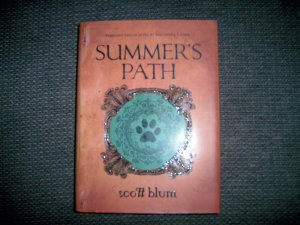 """Summer's Path"" Hardcover Jacket Book BNK2374"
