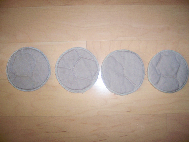 Set Of Four Coasters   BNK2451