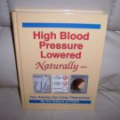 High Blood Pressure Lowered Naturally  BNK2463