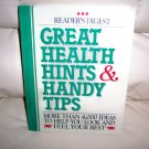 Great Health Hints & Handy Tips  BNK2469