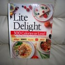 Lite Delight Cookbook  HArdcover Fully Illustrated BNK2503