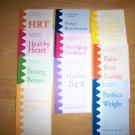 Set Of Ten Brochuires For Health By Dr.Lark   BNK2592