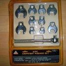 Crowfeet Wrench Set 11 Peices  BNK2638