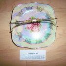 Serving  Decorative Plate With Gold Plated Handle BNK2640