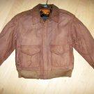 Ladies XS Leather Bomber Jacket  BNK2690
