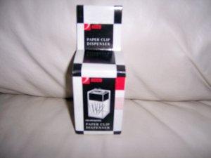 Paper Clip Dispenser  By Acco  Black/Smoke  BNK2704