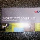 Shortcut To Golf Rules USGA    BNK2730