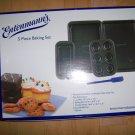 5 Pc Baking Set By Entenmann's Non-Stick  BNK2811