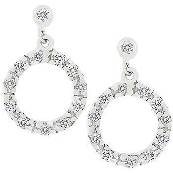 Perfect Circle Hoop Earrings