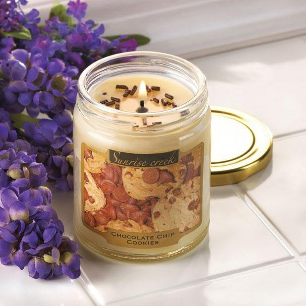 Chocolate Chip Cookie Scent Candles
