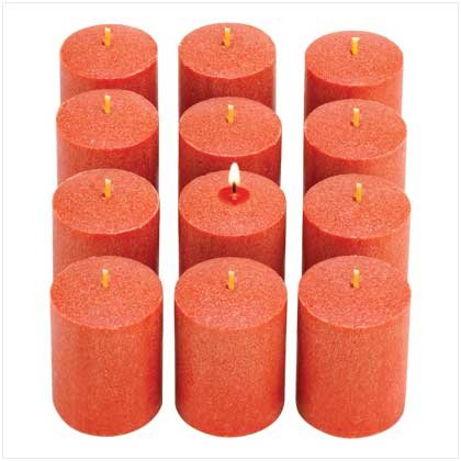 Pumpkin Spice Votive Candles