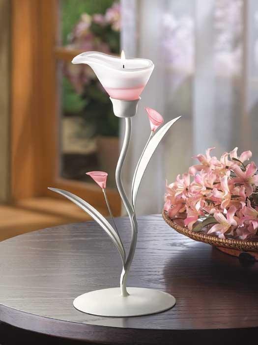 Sunrise Lily Tealight Holder