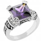 Amethyst Eyes Ring