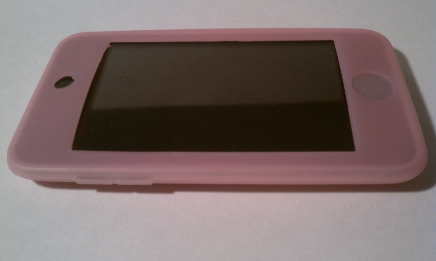 Pink Silicon Ipod Case