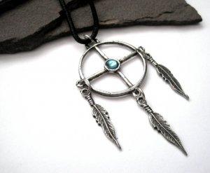 Native American Medicine Wheel Necklace