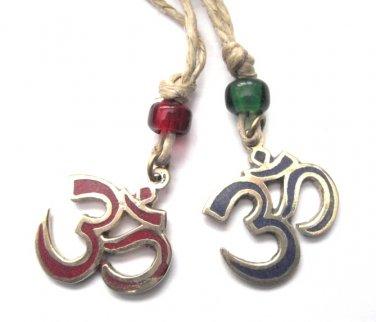 Om Hemp Necklace