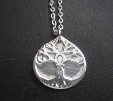 Goddess Tree Amulet Pendant Necklace