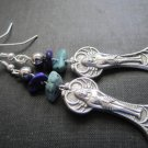 Egyptian Queen Howlite Dangle Earrings