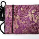 Asian Passport Handbag Purple Bag