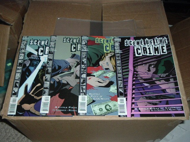 Scene of the Crime #1, 2, 3, 4 (#1-4) COMPLETE SET by Ed Brubaker and DC Vertigo Comics