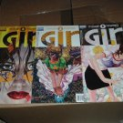 Girl #1-3 FULL SET (1, 2, 3 of 3-Issue DC/Vertigo Mini-Series) Peter Milligan Story