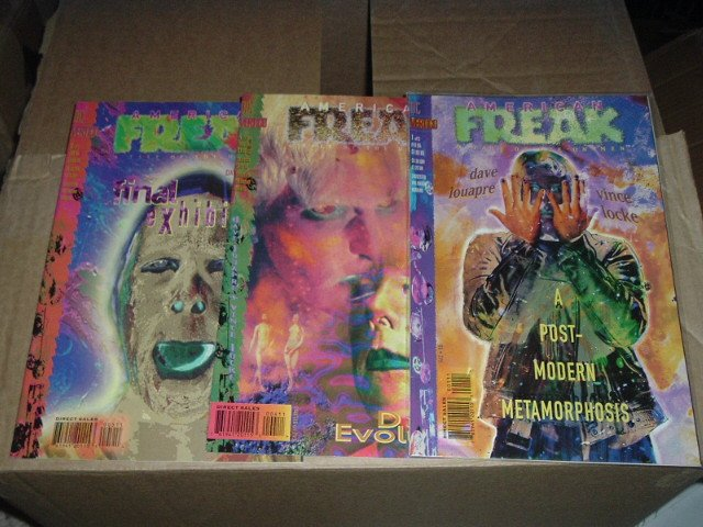 American Freak: A Tale of the Un-Men #1, 4, 5 of a 5-issue DC/Vertigo Mini-series