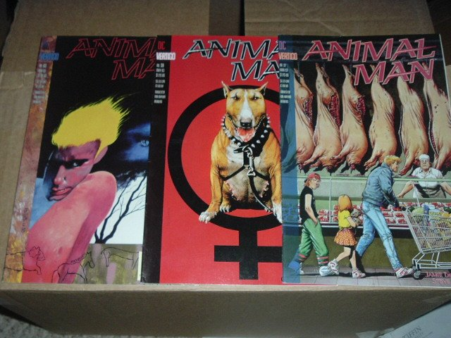 Animal Man #57, 59, 65 by DC/Vertigo Comics.  SAVE $$$ with combined shipping.