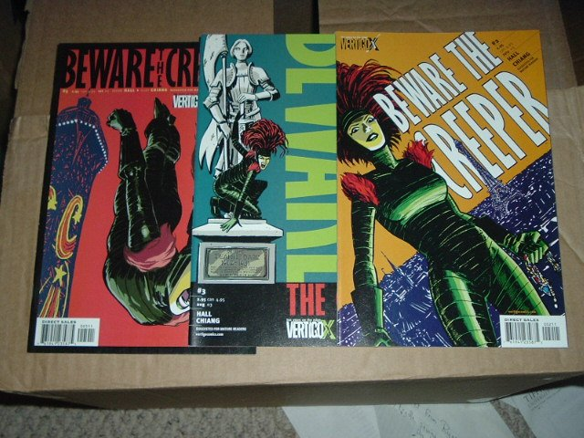 Beware the Creeper #2, 3, 5 of a DC/Vertigo 5-issues series.  SAVE $$ with combined shipping.