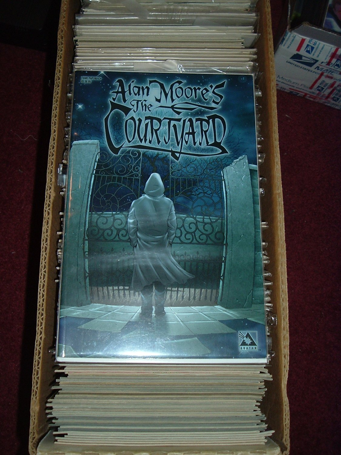 Alan Moore's: The Courtyard TPB (Avatar Press) collected edition FIRST PRINT, SAVE $$$ by COMBINING
