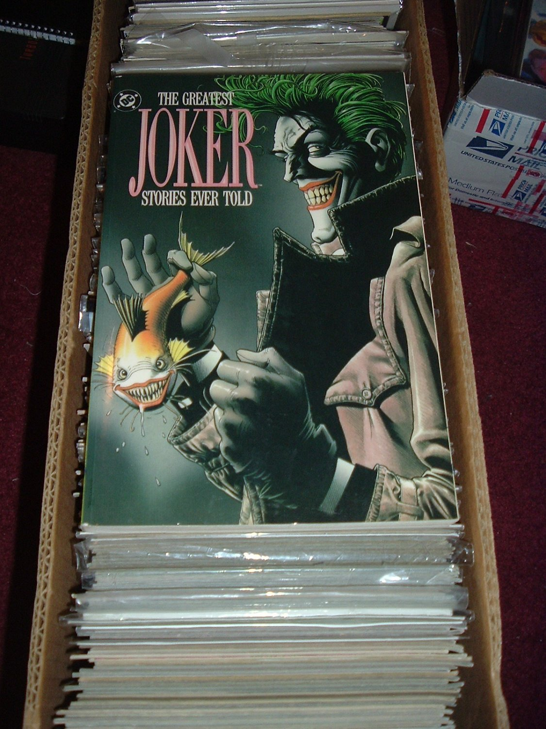 The Greatest Joker Stories Ever Told: JOKER collection (DC Comics TPB 1988) GREAT BOOK