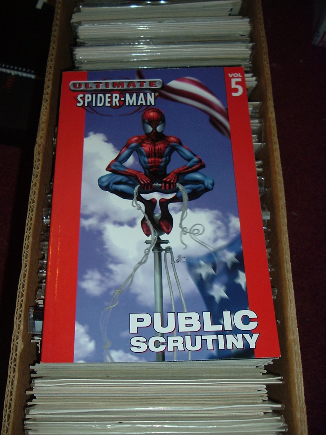 Ultimate Spider-Man Volume 5: Public Scrutiny TPB (Marvel Trade Paperback) Bendis