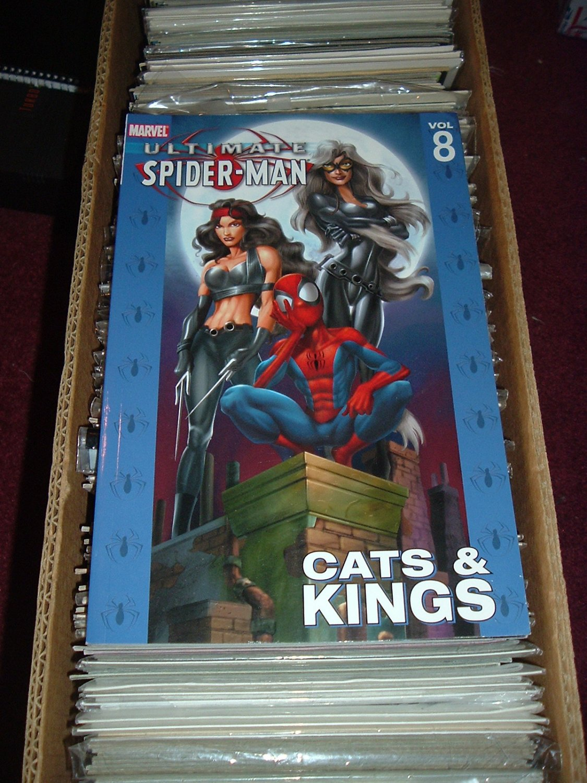 Ultimate Spider-Man Volume 8 TPB: Cats & Kings (Marvel Trade Paperback) Bendis