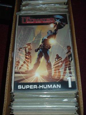 The Ultimates Volume Vol. 1: Super-Human TPB (Marvel Trade Paperback) Mark Millar, SAVE $ COMBINING