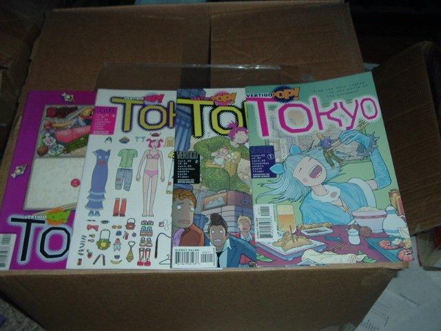 Vertigo Pop: Tokyo #1-4 COMPLETE SET (#1, 2, 3, 4 FULL SERIES) by DC Vertigo Comics