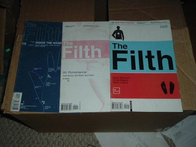 The Filth (Grant Morrison story) #2, 5, and 9 (DC/Vertigo comics) SAVE $$ by combining