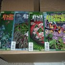 EV: Swamp Thing #7, 9, 10, 12 (Vertigo Comics lot) Alan Moore reprint Saga of #27, 29, 30 Annual 2