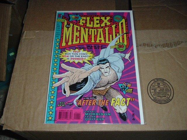 Flex Mentallo #1 RARE (DC Vertigo Comics) Grant Morrison Frank Quitely, SAVE $$$ COMBINING