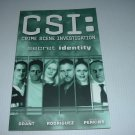 CSI Volume 5: Secret Identity FIRST PRINT TPB (IDW Publishing) $19.99 Cover Trade Paperback FOR SALE