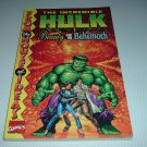 Incredible Hulk: Beauty and the Behemoth TPB (Marvel Comics) collects Inc Hulk #1 original FOR SALE