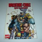 NEW UNREAD Wolverine/Cable: Guts and Glory (Marvel Comics Graphic Novel GN) by Joe Casey, Platt