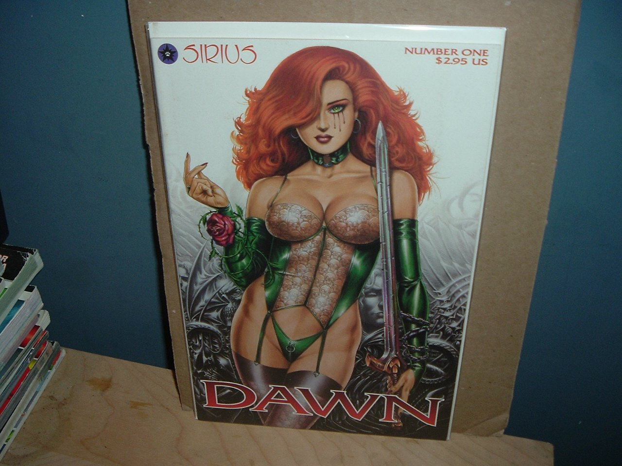 Dawn: Lucifer's Halo #1 FIRST PRINT (J. Michael Linsner, Sirius comics) great comic for sale