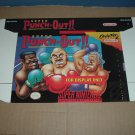 "BRAND NEW Super Punch-Out! ""FOR DISPLAY ONLY"" Authentic SNES Game Box, VERY RARE item FOR SALE"