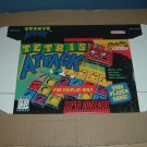 "BRAND NEW Tetris Attack ""FOR DISPLAY ONLY"" Authentic SNES Game Box, VERY RARE item FOR SALE"