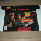 """BRAND NEW Toy Story """"FOR DISPLAY ONLY"""" Authentic SNES Game Box, VERY RARE item FOR SALE"""