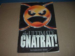 Ultimate Gnatrat TPB, First Print (Fantagraphics Books), spoof of FRANK MILLER Batman & Daredevil