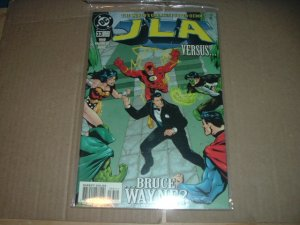 JLA #33 VERY FINE- (DC Comics, Mark Waid story) justice league of america comic For Sale
