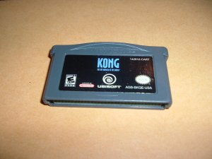 KONG: The 8th Wonder of the World (Nintendo Gameboy Advance) TESTED & WORKS GREAT, game For Sale