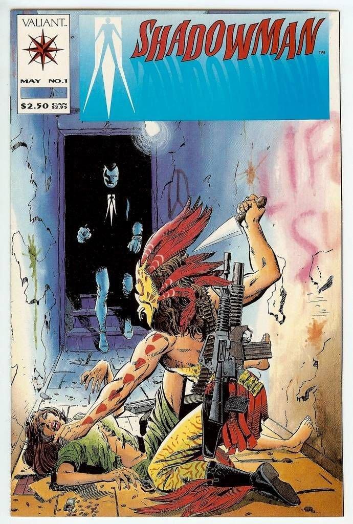 Shadowman v1 #0, 1-43; v2 1-20; volume 3 1-6 FULL SETS (72 Valiant Comics on CD format) For Sale