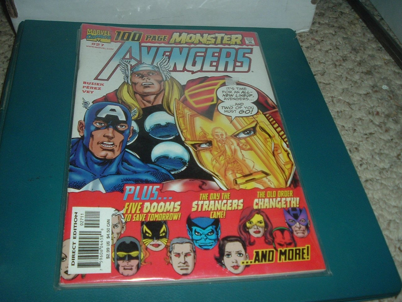 Avengers #27 100-Page Monster Sized comic (Marvel Comics 2000) Busiek, Perez, comic for sale