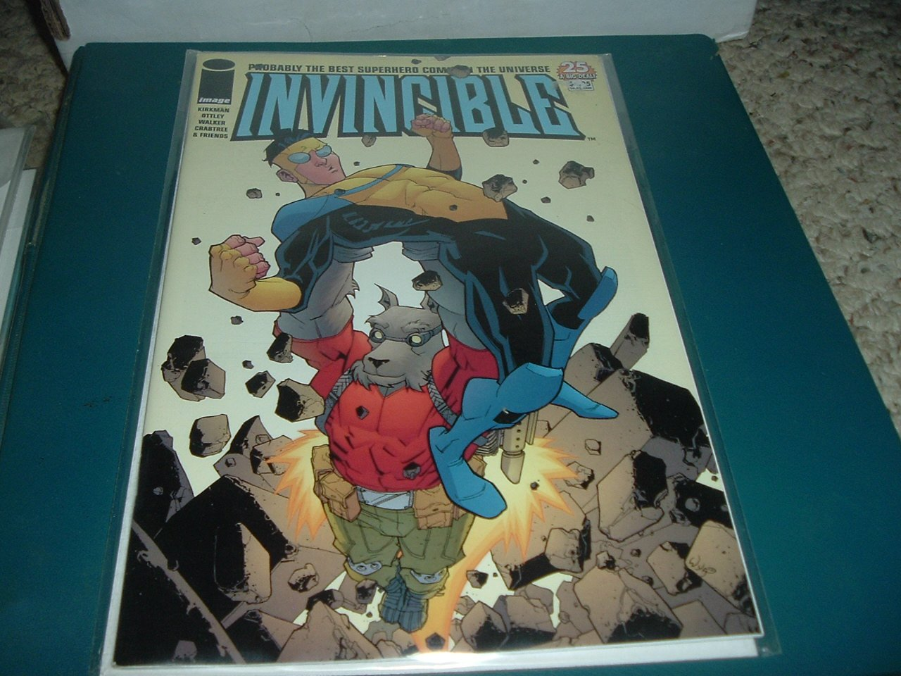 Invincible #25 NEAR MINT (Image Comics 2005) Kirkman, Save $$$ with Shipping Special, comic for sale